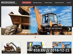 Miniaturka domeny ekobudmax.pl