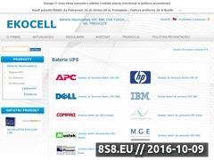 Miniaturka domeny ekocell.pl