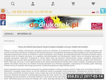 Zrzut strony Www.ekodrukowanie.com.pl