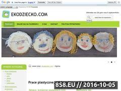 Miniaturka domeny ekodziecko.com