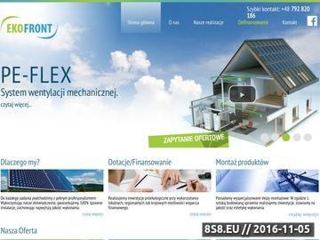 Zrzut strony Pompy ciepła, rekuperacja oraz kolektory słoneczne