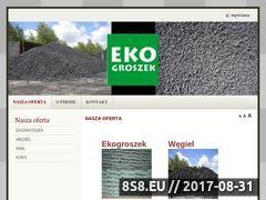 Miniaturka domeny www.ekogroszek-czestochowa.pl