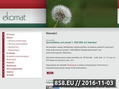 Miniaturka domeny www.ekomat.pl