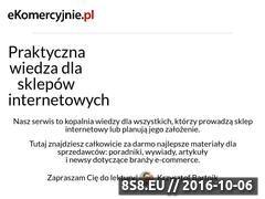 Miniaturka domeny ekomercyjnie.pl