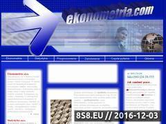 Miniaturka domeny www.ekonometria.com