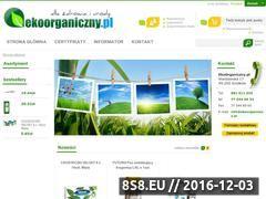Miniaturka domeny www.ekoorganiczny.pl