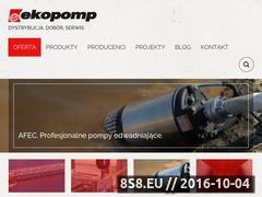 Miniaturka domeny ekopomp.pl