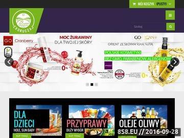 Zrzut strony Zdrowa żywność Kraków