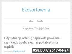 Miniaturka domeny www.ekosortownia.pl