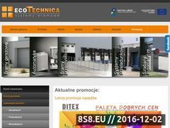 Miniaturka domeny ekotechnica.pl