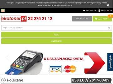 Zrzut strony Tonery i tusze do drukarek w najniższych cenach w ekotoner.pl
