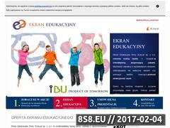 Miniaturka domeny ekranedukacyjny.pl