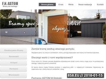 Zrzut strony Sprzedaż wysokiej jakości bram garażowych Krispol, Wiśniowski