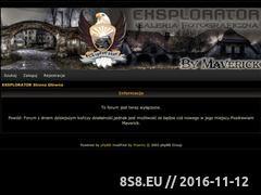 Miniaturka domeny eksplorator.feen.pl