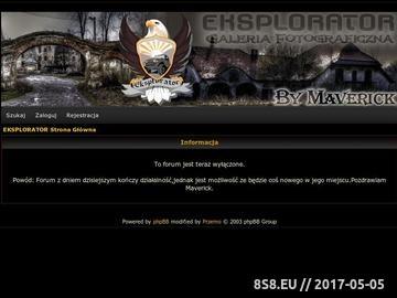 Zrzut strony Eksplorator