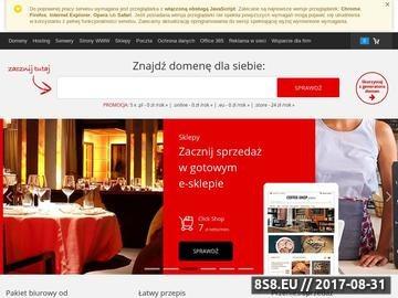 Zrzut strony Portal EKSPLORER.EU