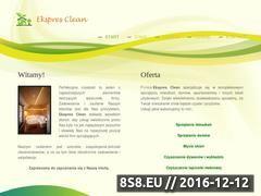 Miniaturka domeny ekspresclean.strefa.pl