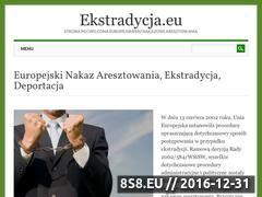 Miniaturka domeny www.ekstradycja.eu