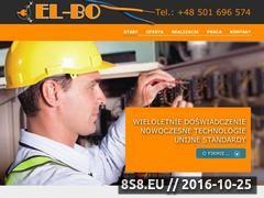 Miniaturka domeny el-bo.eu