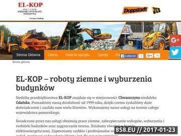 Zrzut strony Rozbiórki budynków - EL-KOP