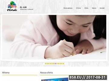 Zrzut strony EL-ŁUK farby Toruń