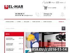 Miniaturka domeny www.el-mar.sklep.pl