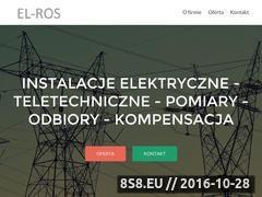 Miniaturka domeny el-ros.pl