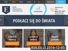 Miniaturka domeny www.elab.edu.pl