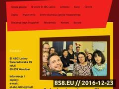 Miniaturka domeny www.elabclatino.pl