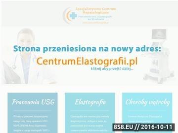 Zrzut strony Dokładniej niż Fibroscan - Elastografia SWE wątroby