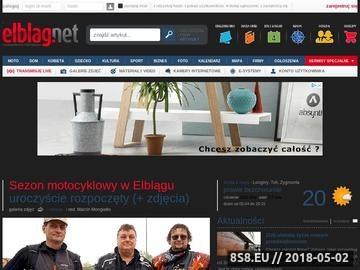 Zrzut strony Portal Elbląg