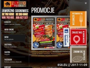 Zrzut strony Pizza Sosnowiec