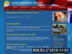 Miniaturka domeny www.elc.opole.pl