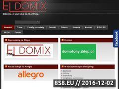 Miniaturka domeny eldomix.com.pl