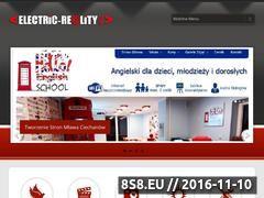 Miniaturka domeny www.electric-reality.eu