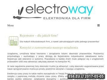 Zrzut strony Electroway - najtańsze urządzenie RCP