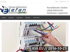 Miniaturka domeny www.elefan.com.pl