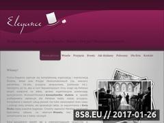 Miniaturka domeny www.elegance.czest.pl