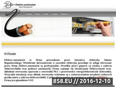 Miniaturka domeny elektro-automatyk.pl