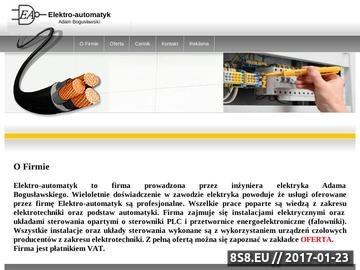 Zrzut strony Elektryk Kalisz