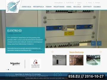 Zrzut strony Instalacje elektryczne kraków