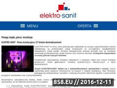Miniaturka domeny elektro-sanit.pl