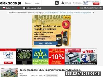 Zrzut strony Elektroda.pl - portal dla elektronika