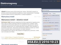 Miniaturka domeny elektromagnesy.pl