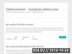 Miniaturka domeny elektroninstal.pl