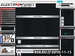 Miniaturka domeny www.elektropunkt.pl