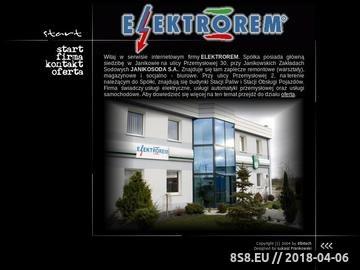 Zrzut strony Remonty silinków elektrycznych - Elektrorem