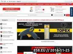 Miniaturka domeny www.elektrotop.pl