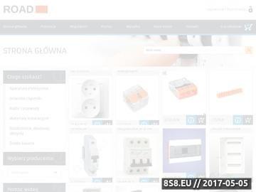 Zrzut strony Hurtownia materiałów elektrycznych w Dzierżoniowie