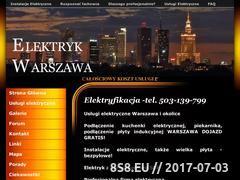 Miniaturka domeny www.elektryfikacja.pl